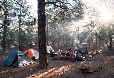 Campingkocher sicher