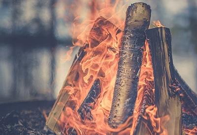 Brennstoff für Holzkocher